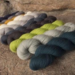 Rosy Green Wool - Merino d'Arles