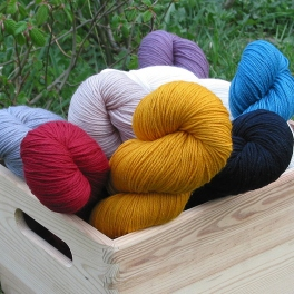 Rosy Green Wool - Cheeky Merino Joy