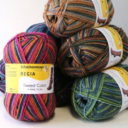 Regia - Tweed color 100g