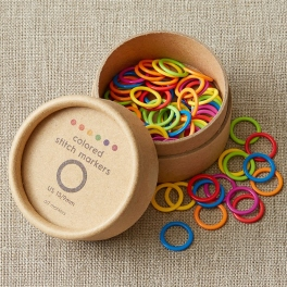 Cocoknits - kruhové značky farebné väčšie