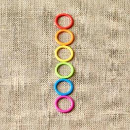 Cocoknits - kruhové značky farebné menšie