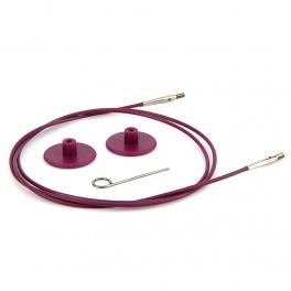 Lanko pre vymeniteľné ihlice KnitPro fialové