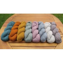 Rosy Green Wool - Cheeky Merino Joy melange
