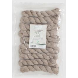 Rosy Green Wool - Manx Merino Fine natural