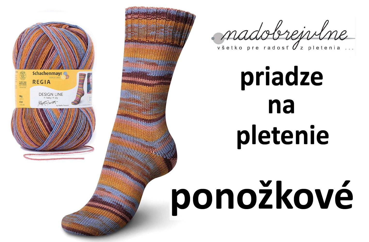 ponozkove priadze