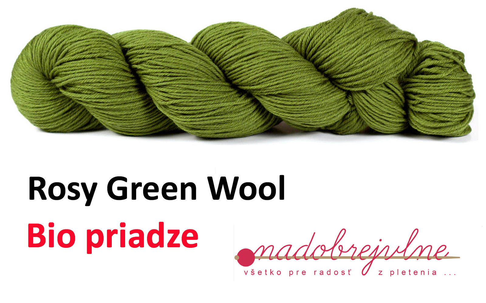 Priadze Rosy Green Wool